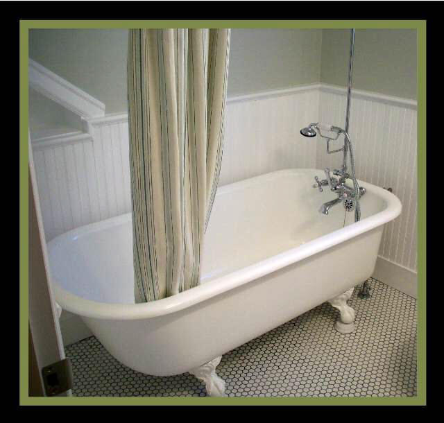 Fixtures for clawfoot tubs room ornament for Claw foot bath tub for sale